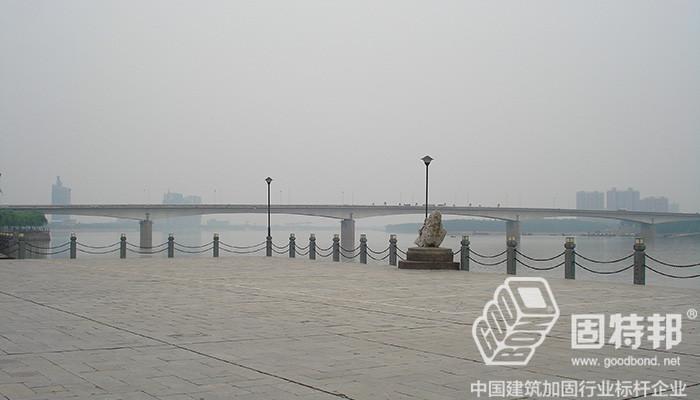 湖南常德沅水一桥加固工程