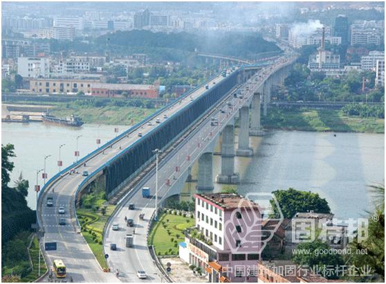肇庆西江公铁两用大桥维修加固工程