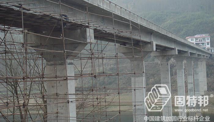湖南龙山县湾塘大桥桥梁加固工程