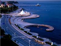 烟台开发区海滨路道路维修加固工程