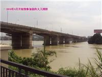 广东东莞跨东江石碣大王洲桥加固