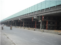 珠江广清高速海布立交桥梁加固工程