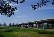 京沪高速新沂河大桥加固维修工程