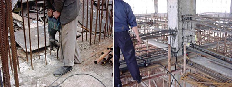 《混凝土结构工程用锚固胶》工程应用